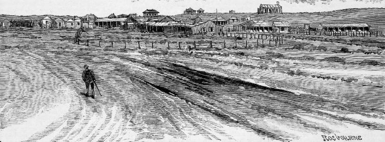 """View of the North End of Roebourne [31] Used with permission """"Newspaper Collection, State Library of Victoria"""""""